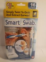 Smart Swab Soft Spiral Ear Cleaner Safe Ear Wax Removal Kit AS SEEN ON TV NEW!