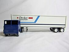 Winross 1981 DECKER TRANSPORT Cargo Truck