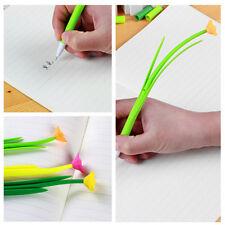 12stk 3D Blumen Gras Gelstifte Gelschreiber Schreibzeuge Kinder Geschenk