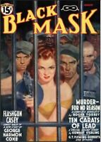 Black Mask 22 Issue Detective Crime Bad Guys Magazine Collection