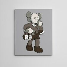 "16X20"" Gallery Art Canvas: Kaws Companion Clean Slate NYC Brian Donnelly"