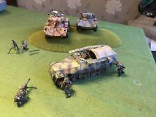 Pro Built 1/35 WW2 Model Tanks And Vehicles Lot 13