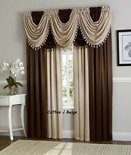 Royal Velvet Solid Pattern Curtains Drapes Valances Ebay