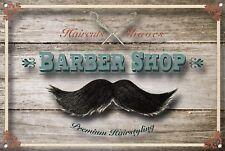 Barber Shop Sign, Metal Sign, Barber Shop Signs, Modern Style, Barber Shop, 1003