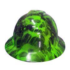 Green Toxic Skull Pyramex Ridgeline Hard Hat