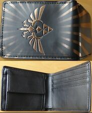 NINTENDO Portefeuille ZELDA Logo black triforce grand logo 2015 NEW