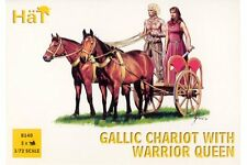 HaT 8140 1/72 Gaulois – Gallic Chariot with Warrior Queen HäT