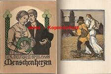 Der deutsche Spielmann / Rudolf Schiestl / Kunst / Kunstbuch / 1925