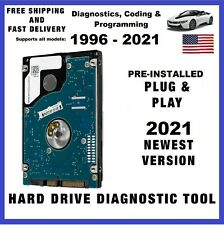 2021 Diagnostic Hdd suite for Bmw & Mini Coding Hard Drive Tool Enet K+Dcan Icom