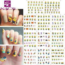 11 Sheets/Lot Cute Cartoon Nail Art Stickers Water Transfer Decals Ble1852-1862