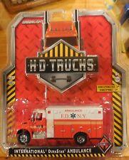Green Light H-D Trucks International DuraStar Ambulance F.D. New York
