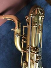 OLDS AMBASSADOR H COUF STENCIL BARITONE SAXOPHONE!