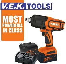 """SP TOOLS 3/4"""" 18V 5AH IMPACT CORDLESS WRENCH DRILL COMBO KIT-2YR AUSWIDE WRNTY"""