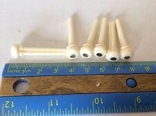 6 Bridge Pins Polish Buffalo Horn