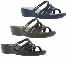 Sandali e scarpe pantofole, ciabatte neri Crocs per il mare da donna