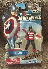 """MARVEL COMICS I VENDICATORI: la U.S. Agent (3,75 """"Action Figure CAPITAN AMERICA"""