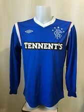 Glasgow Rangers 2011/2012 Home Size L football shirt jersey soccer long sleeves