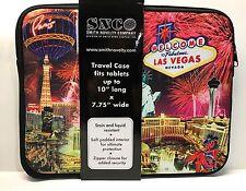 Las Vegas Strip Sign Casino Hotel Zipper Padded Travel Case Tablet PDA iPad