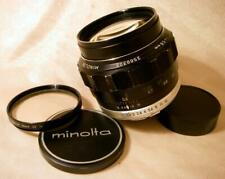 MINOLTA MC ROKKOR-PG 58mm f1.2 58/1.2 LENS for 35mm SLR camera SR MD mount JAPAN