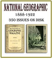 NATIONAL GEOGRAPHIC Vintage Magazine  34Years Complete on DVD World Geography 70