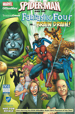 MARVEL #1 SEPT 2006 Spider-Man & Fantastic Four OfficeMax  Exclusive BRAIN DRAIN