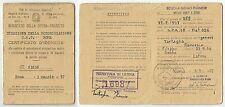 Roma 1957: Min. della Difesa- Esercito - Scuola Genio Pionieri rilascio patente