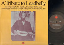 A Tribute to LEADBELLY 2 LP GATEFOLD Arlo Guthrie Sonny Terry & Brownie McGhee
