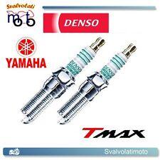 2 CANDELA CANDELE IRIDIUM POWER IRIDIO DENSO IU22 YAMAHA TMAX T MAX 500 2011