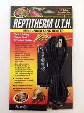 Zoo Med Reptile Under Tank Heater Mini Heat Pad 1 - 5 gallon Rh-7 4 x 5 4 watts