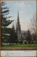 1907 Postcard: Cathedral - Garden City, Long Island, NY
