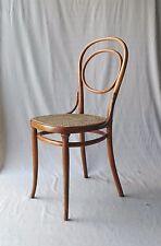"Chaise THONET N° 10, cannage neuf, modèle "" frühen  Form "" 1875"