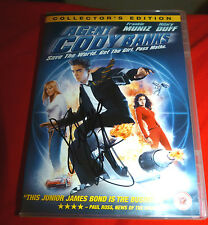 HILARY DUFF SIGNED AGENT CODY BANKS DVD LIZZY MCGUIRE 100% GENUINE
