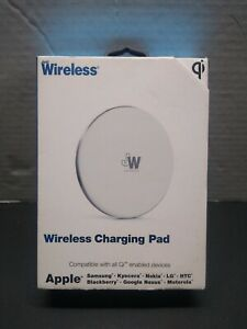 Just Wireless 5W Qi Wireless Charging Pad with Wall Adapter Included - Sealed
