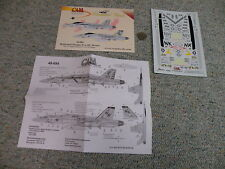 CAM  decals 1/48 48-084 Hornet's Nest F/A-18C Hornet VFA-22 Fighting Redco   F67
