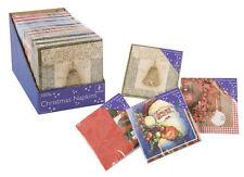 Décorations de fête serviettes pour la maison Noël