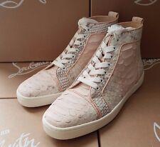 CHRISTIAN LOUBOUTIN Louis Orlato Python women's sneaker shoes FR 41 US 11 UK 8