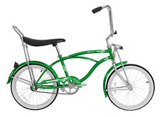"""20"""" Beach Cruiser Bicycle Bike LowRider MBI Hero Green"""
