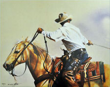A Good Team by John Fawcett Team Roping Cowboy Print SN LE 950 Western