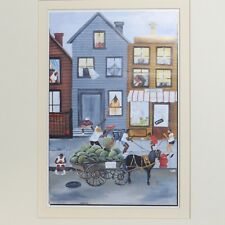 "Annie Lee 1993 ""Sweet & Juicy"" Religious/African American Art Print Poster 13x17"