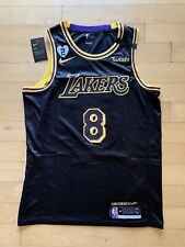 Mens Kobe Bryant Jersey Black Mamba Day Snakeskin Los Angeles Lakers - Large