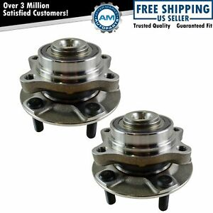 For 2003 2004 2005 2006 2007 Infiniti G35 Coupe RWD 2 Front Wheel Bearing & Hubs