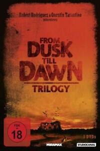 From Dusk Till Dawn 1+2+3 Trilogy ( Horror Kult 3 DVDs ) Quentin Tarantino NEU