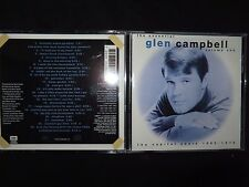 CD GLEN CAMPBELL / THE CAPITOL YEARS / 1962 - 1979 /
