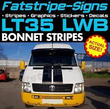 VW LT35 LWB BONNET STRIPES GRAPHICS STICKERS DECALS CAMPER DAY VAN VOLKSWAGEN