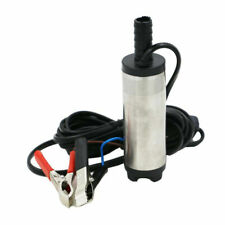 12v DC Electric Submersible Pump Water Oil Diesel Fuel Car 38mm Silver B S350
