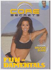 CORE SECRETS FUNDAMENTALS FEATURING BROOKE BURKE (DVD,2003)