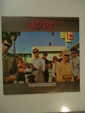 *VG* COND. AC/DC Dirty Deeds Done Dirt Cheap Vinyl LP, Cover (VG), 1976 Atlantic