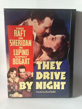 They Drive By Night dvd  US release slip case.