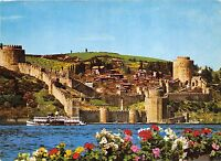 BR6283 Istanbul Bosphorus from the Castle of Rumeli Hisan    turkey