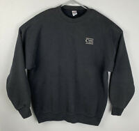 Vintage Soffe Heavy Sweats Black Pullover Sweatshirt Mens XXL 2XL